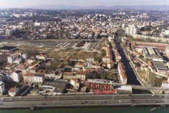 projet urbain quartier Saulaie Oullins
