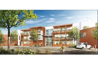 Immobilier neuf Marignane : pose officielle de premi�re pierre