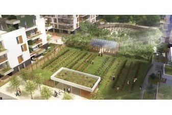 Du logement neuf avec de la permaculture près de Tours