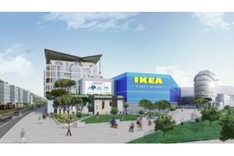 projet immobilier neuf mixte Ikea Nice