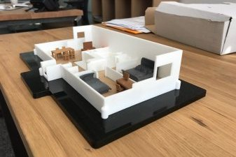 appartement neuf maquette 3D
