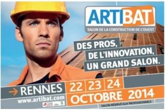 Le salon ARTIBAT ouvre ses portes au parc des Expositions de Rennes.