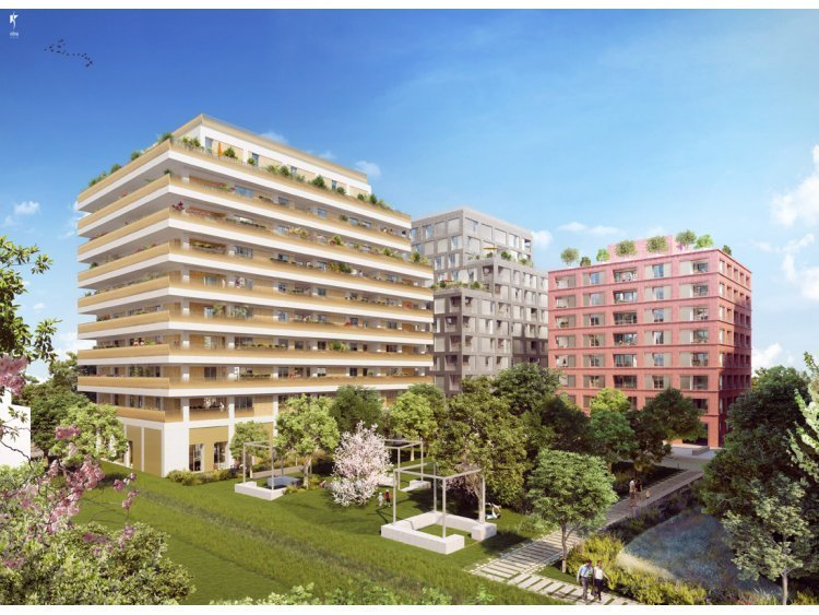 Gerland nouvel eldorado du logement neuf lyon for Trouver logement neuf