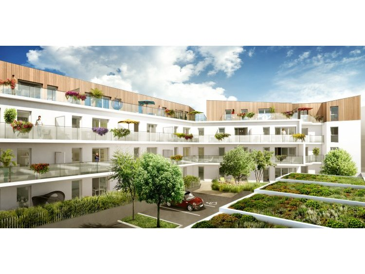 Premi re pierre pour du logement neuf saint herblain for Trouver logement neuf