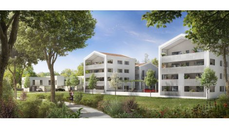 Appartements et villas neuves éco-habitat La Source de Lilhac à Toulouse