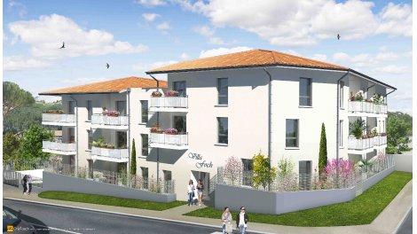 Appartement neuf Villa Foch éco-habitat à Cenon