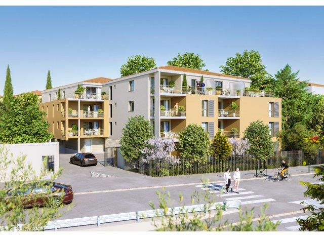 Programme immobilier loi Pinel Villa Thessa à Aix-en-Provence
