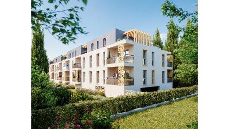 Programme immobilier neuf éco-habitat L'Allée du Parc à Marignane