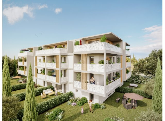 Programme immobilier loi Pinel L'Estrella à Marignane