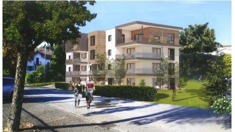 Appartement neuf Le Duomo investissement loi Pinel à Annemasse