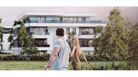 Appartement neuf éco-habitat Le Caudalia à Gaillard