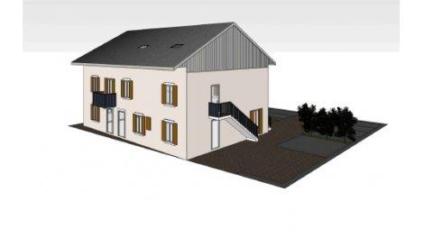 Appartement neuf éco-habitat Les Jardins du Chablais à Thonon-les-Bains