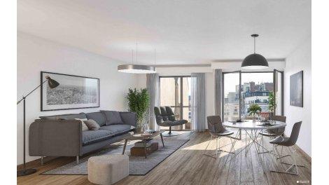 Immobilier basse consommation à Paris 20ème