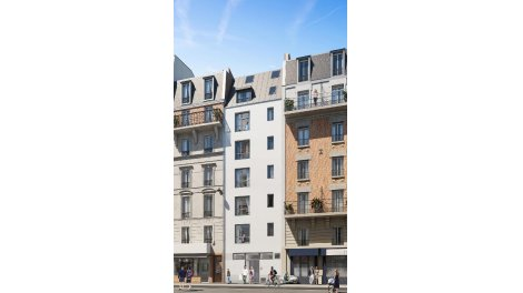 Programme immobilier loi Pinel Villa Comedia à Paris 20ème