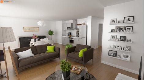 Programme immobilier loi Pinel L'Atelier à Tours