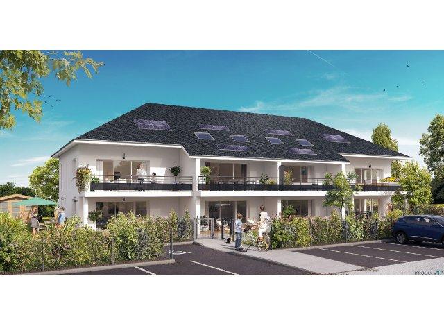 """Éco habitat éco-habitat Coeur de Village """"belle Vue"""" à Saint-Castin"""