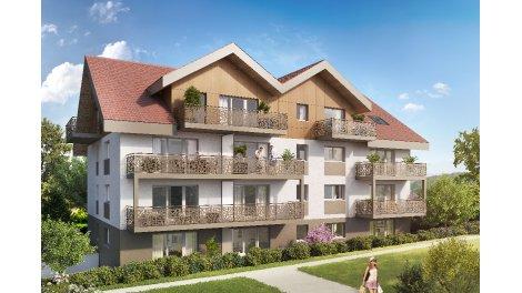 Programme immobilier loi Pinel L'Aster à Bons-en-Chablais