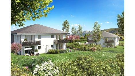 Programme immobilier loi Pinel Le Domaine du Granier à Challes-les-Eaux