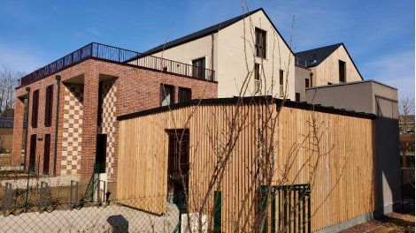 Éco habitat éco-habitat Les Jardins Brunehaut à Senlis