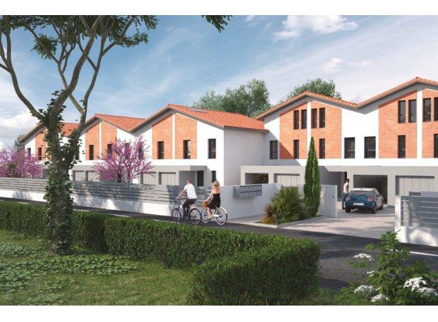 Programme immobilier loi Pinel Les Villas Serenes à Aucamville