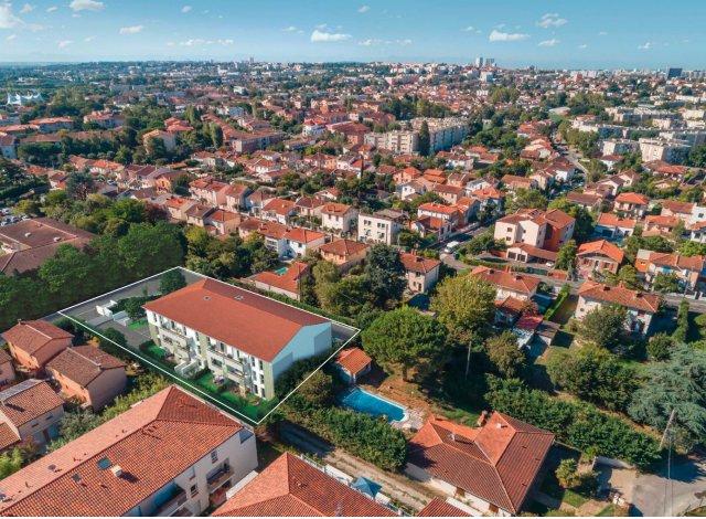 Programme immobilier neuf éco-habitat Elena à Toulouse