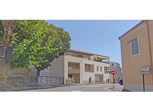 Programme immobilier loi Pinel Les Terrasses du Grand Champ à Nîmes