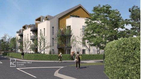 Programme immobilier neuf éco-habitat Le Centre du Village à Mont-Saint-Aignan