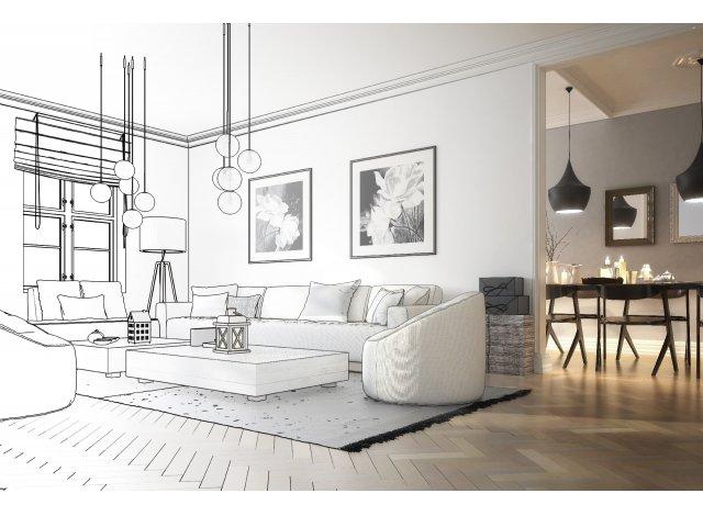 Programme immobilier loi Pinel Mont Saint Aignan Entre Village et Gare à Mont-Saint-Aignan