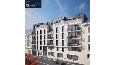 Programme immobilier neuf éco-habitat Rouen Cathedrale à Rouen