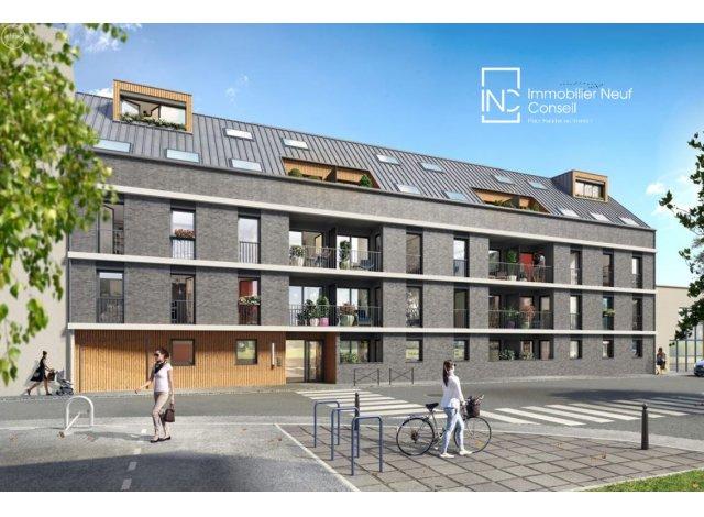 Programme immobilier loi Pinel Rouen Prefecture à Rouen