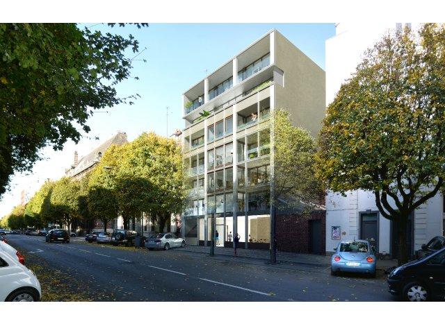 Programme immobilier loi Pinel Metronom à Lille