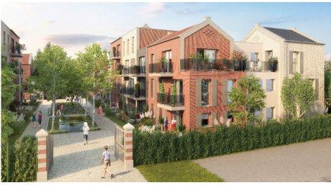 Programme immobilier loi Pinel Le Village du Hautmont à Mouvaux
