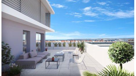 Appartement neuf Capitole sur Mer éco-habitat à Marseille 2ème