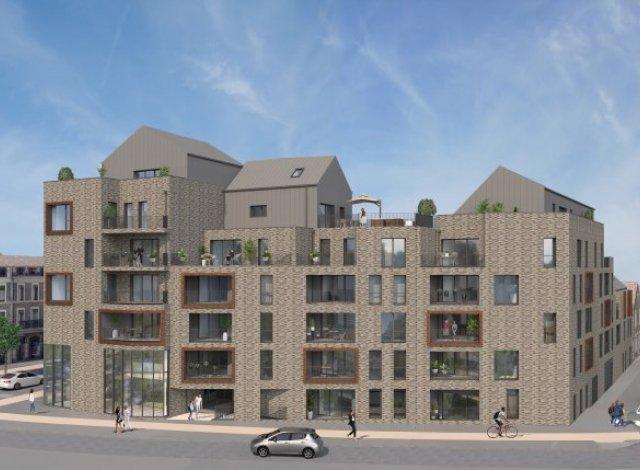 Programme immobilier loi Pinel Terres Brunes à Saint-Malo