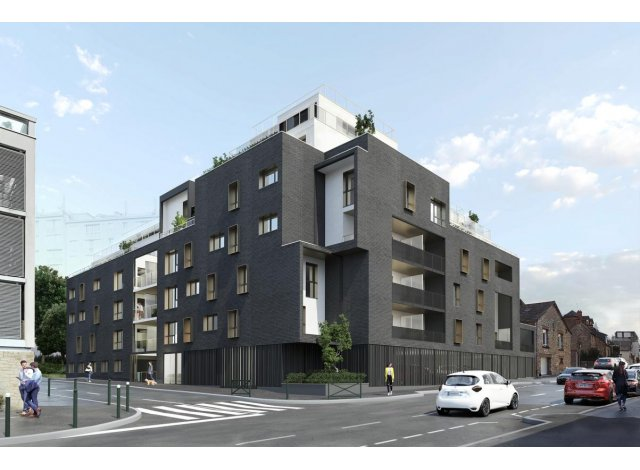 Programme immobilier loi Pinel Villa Saint-Paul à Rennes