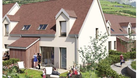 Éco habitat éco-habitat Les Villas St Jacques à Sigolsheim