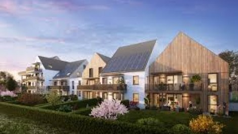Programme immobilier neuf éco-habitat Vertcity Neuhof-Village à Strasbourg