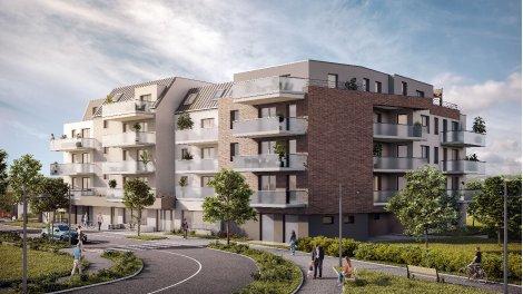 Programme immobilier neuf éco-habitat Urbanity à Strasbourg
