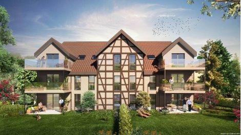 Programme immobilier neuf éco-habitat Le Clos du Marronnier à Dingsheim