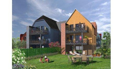 Appartement neuf Le Jardin d'Etienne éco-habitat à Eschau