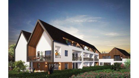 Programme immobilier loi Pinel Le Domaine de l'Aubier à Oberschaeffolsheim