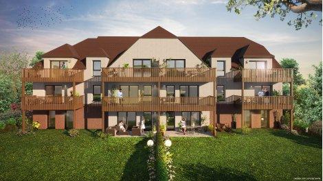 Éco habitat éco-habitat Les Jardins du Rosenmeer à Rosheim