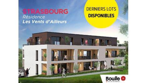 Programme immobilier neuf Les Vents d'Ailleurs investissement loi Pinel à Strasbourg