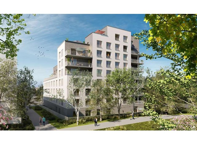 Programme immobilier neuf Green Academy à Rennes