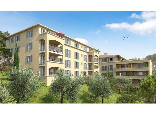 Programme immobilier loi Pinel Domaine des Arts à Aix-en-Provence