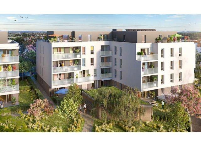 Programme immobilier loi Pinel Ecko à Eckbolsheim