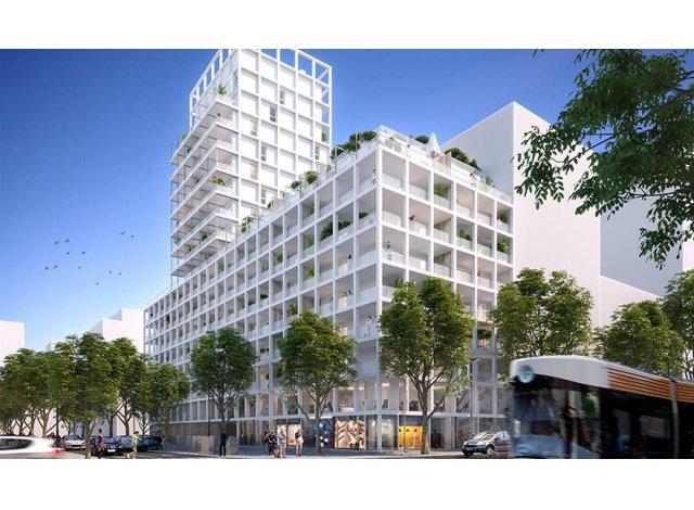 Programme immobilier loi Pinel Euroméditerranée - les Fabriques à Marseille 15ème