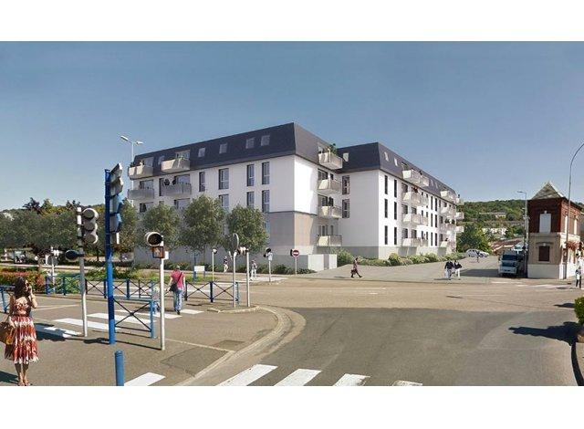 Programme immobilier loi Pinel L'Etoffe du Cailly à Déville-lès-Rouen