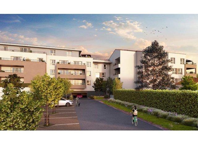 Programme immobilier loi Pinel Green Allée à Marseille 11ème