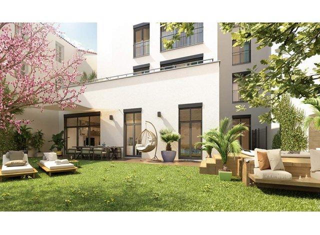 Programme immobilier loi Pinel Le 21 à Lyon 6ème